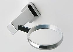 Bad Accessoires mit Kunststoffe an Verbindung für fast geräuschlose Handhabung