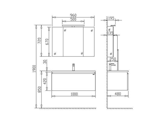 Ikea Küchen Unterschrank Maße ~ 1000 idées sur Waschbecken Mit Unterschrank sur Pinterest  Badmöbel