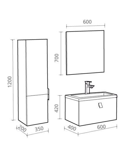waschbecken ma e m belideen. Black Bedroom Furniture Sets. Home Design Ideas