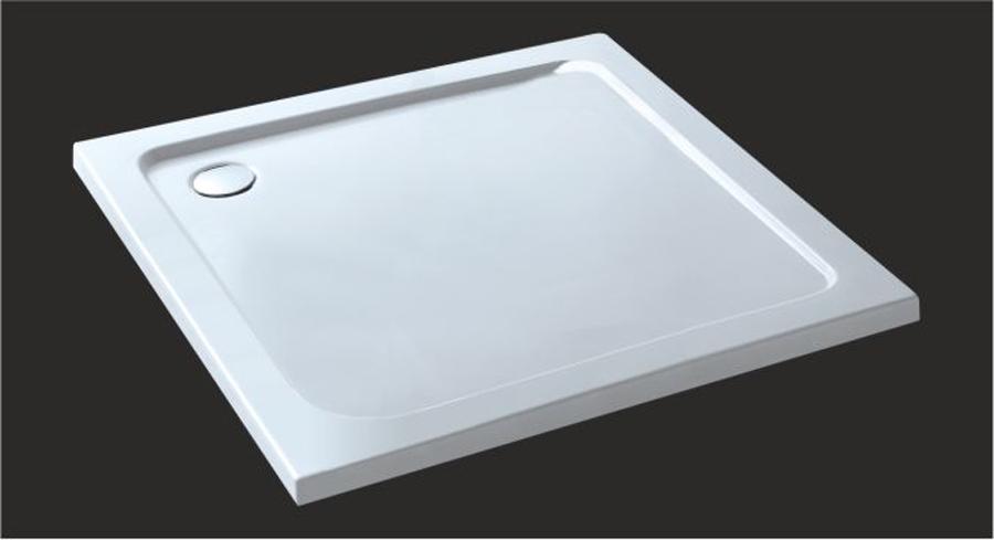 Dusche Wanne Einbauen : -bad.de/duschwannen/ASR99/duschwanne_duschtasse_90x90cm_asr